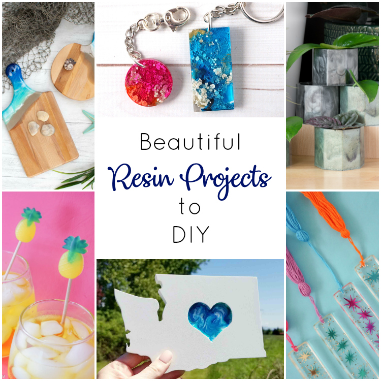 The perfect projects to make when starting out with resin!