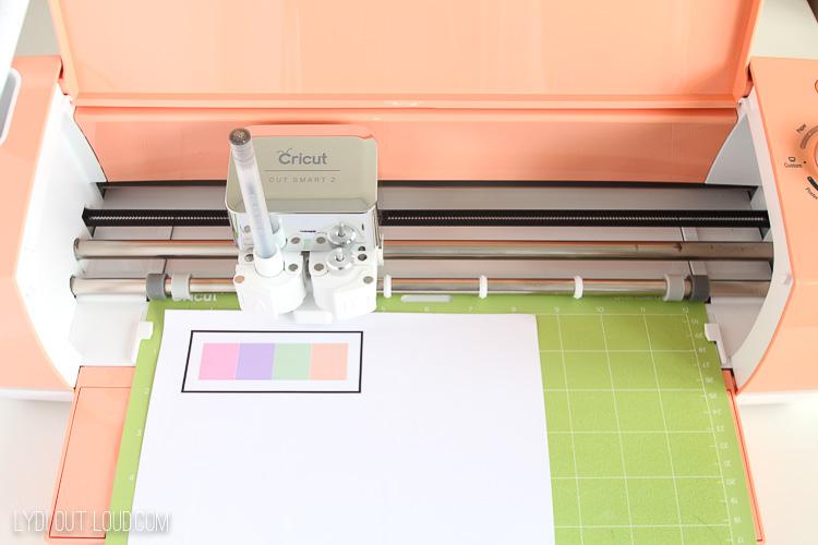 Print then cut Cricut