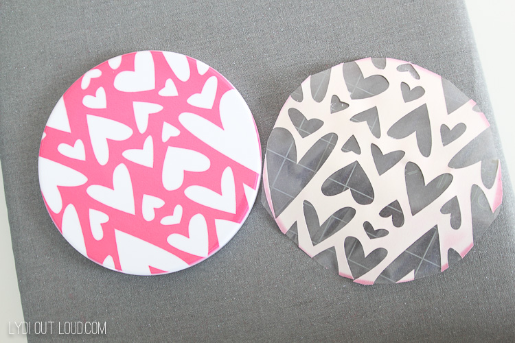 How to make an infusible ink sublimation coaster