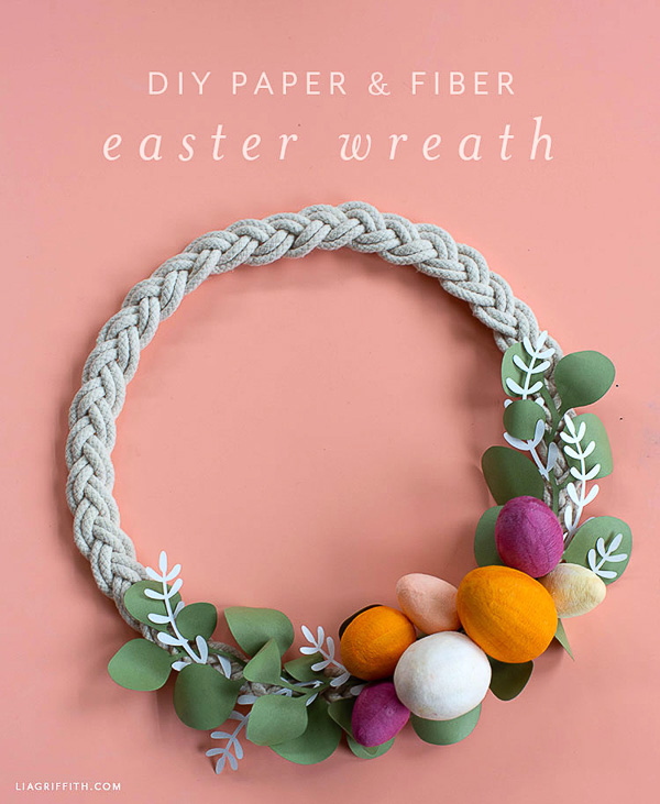 Lia Griffith Easter Wreath