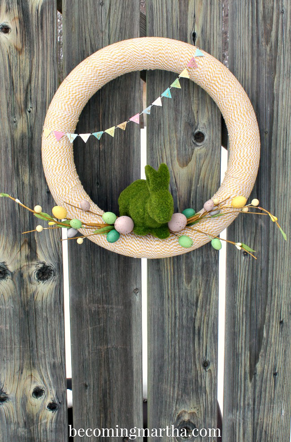 Bakers Twine Wreath