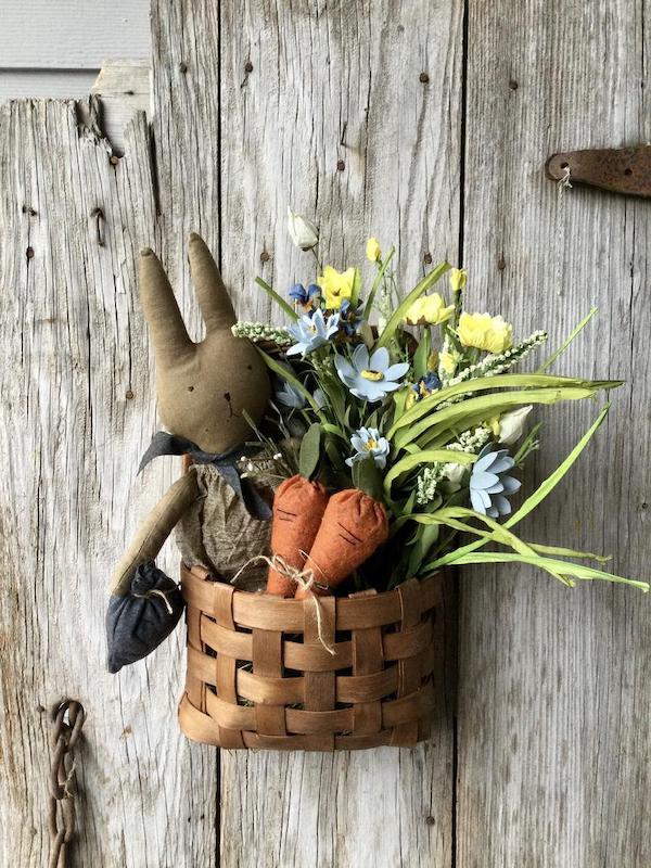 Easter Basket Door Hanger