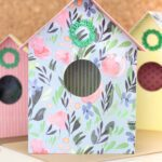 Paper Bird House designs to make with a Cricut