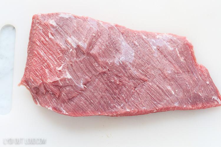 flat of beef brisket