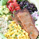 Mexican BBQ Beef Brisket Bowl