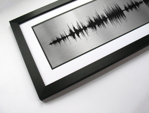 Favorite song sound wave art