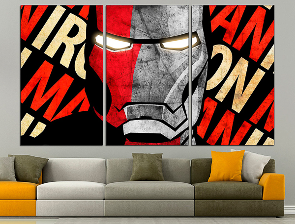 Ironman canvas wall art
