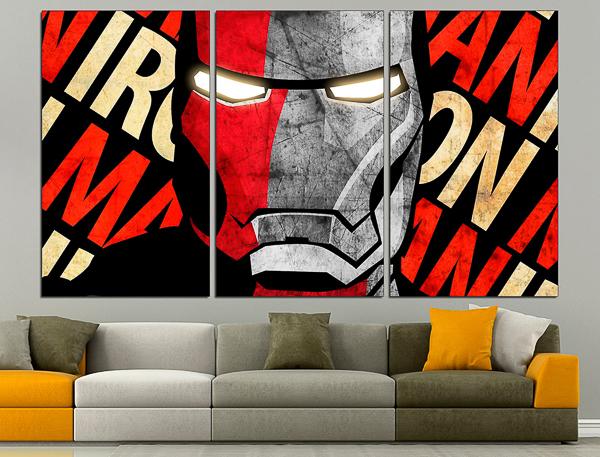 Ironman canvas wall art