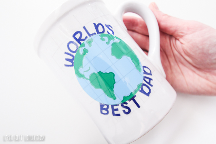World's Best Dad mug for Father's Day