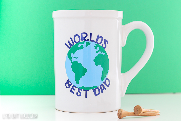 DIY Father's Day Coffee Mug gift idea