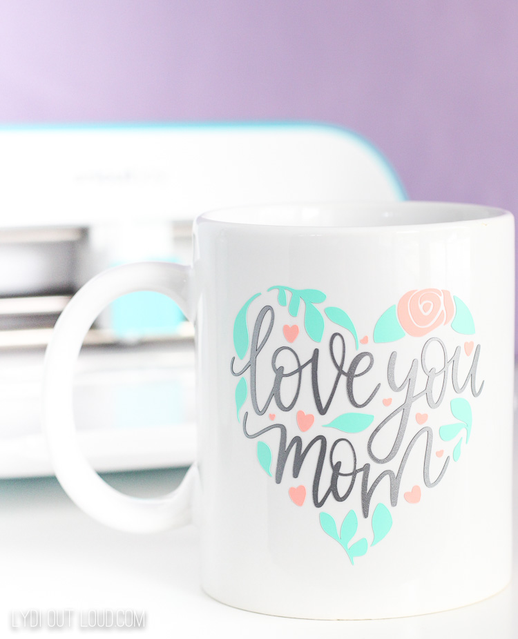 Mother's Day gift with Cricut Joy
