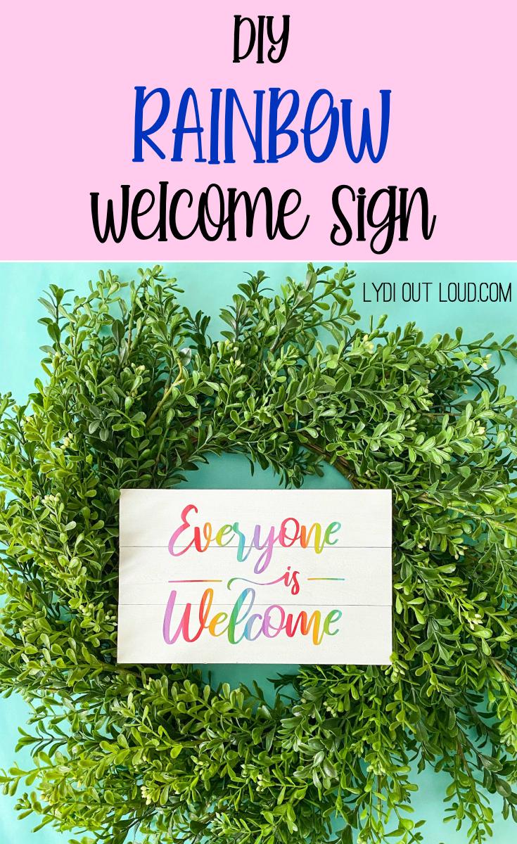 How to Make a DIY Shiplap Sign with a Cricut Maker via @lydioutloud