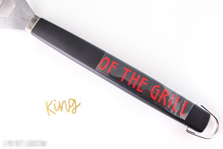King of the grill gift idea