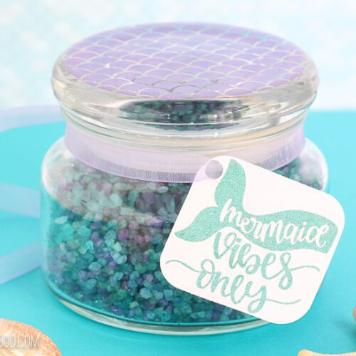 Mermaid Fizzy Homemade Bath Salts