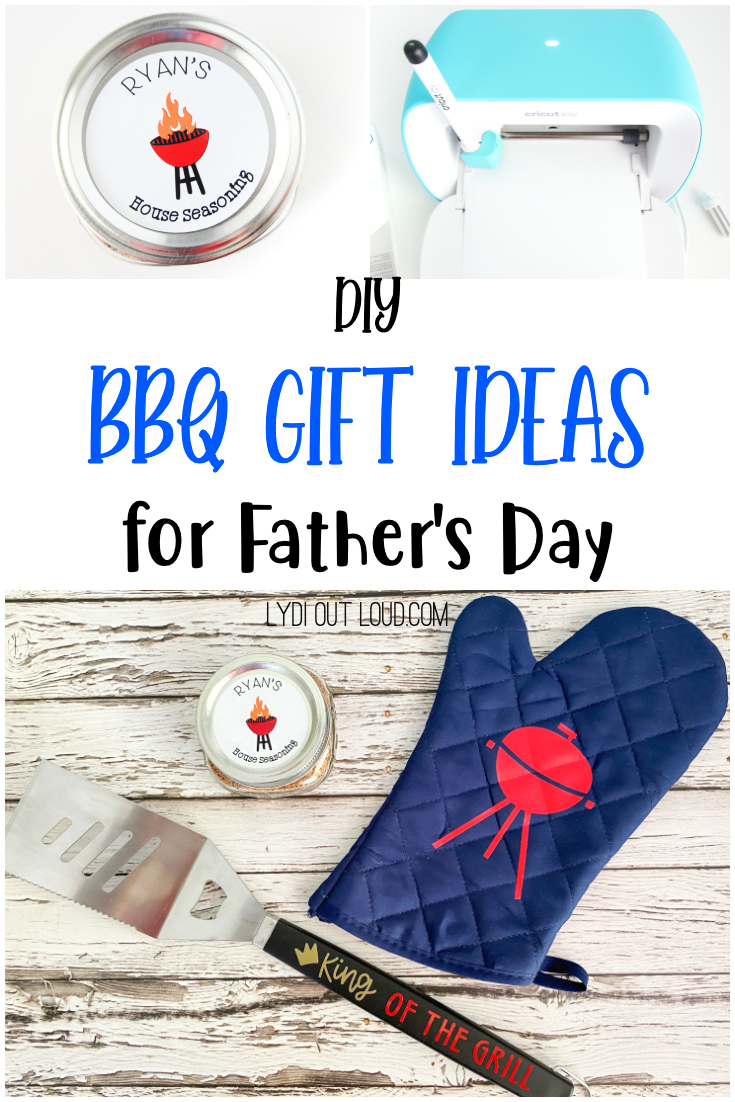 Personalized BBQ Gift Set Idea for Father's Day