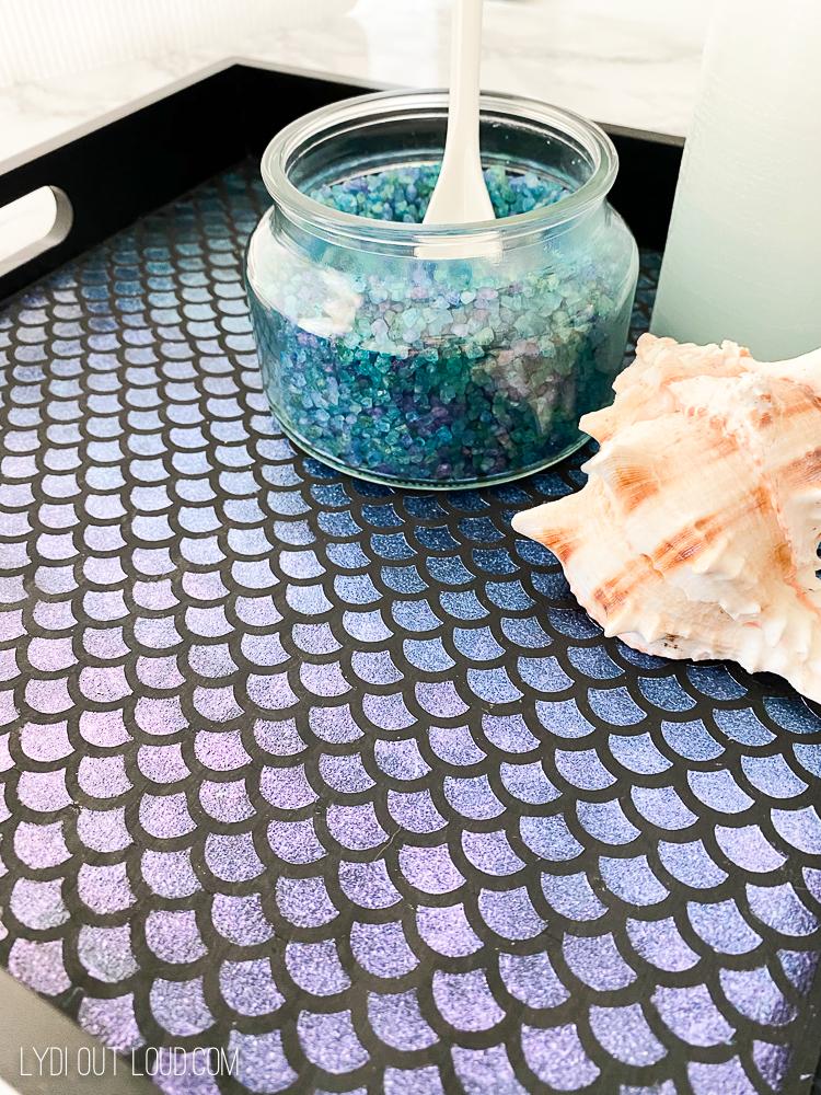 Mermaid Decorative DIY Serving Tray
