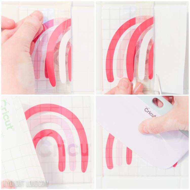 Rainbow Tile DIY Backsplash