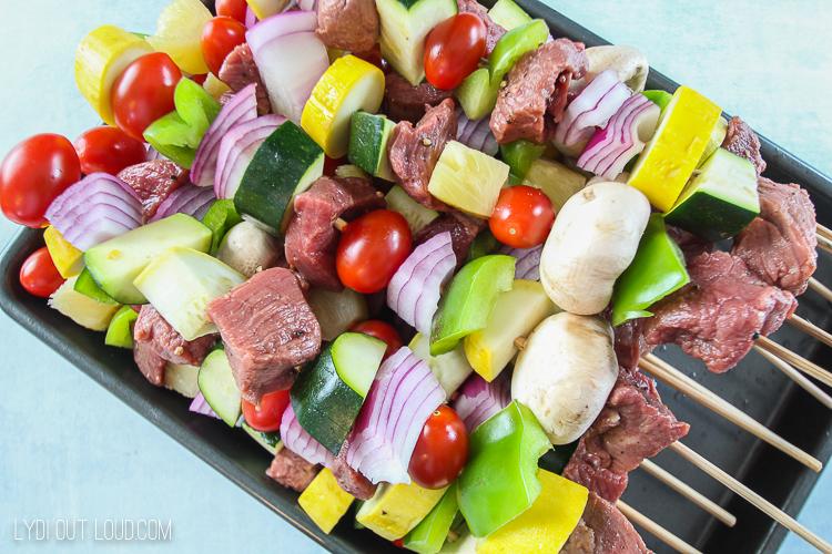 Grilled Steak Kabobs Recipe