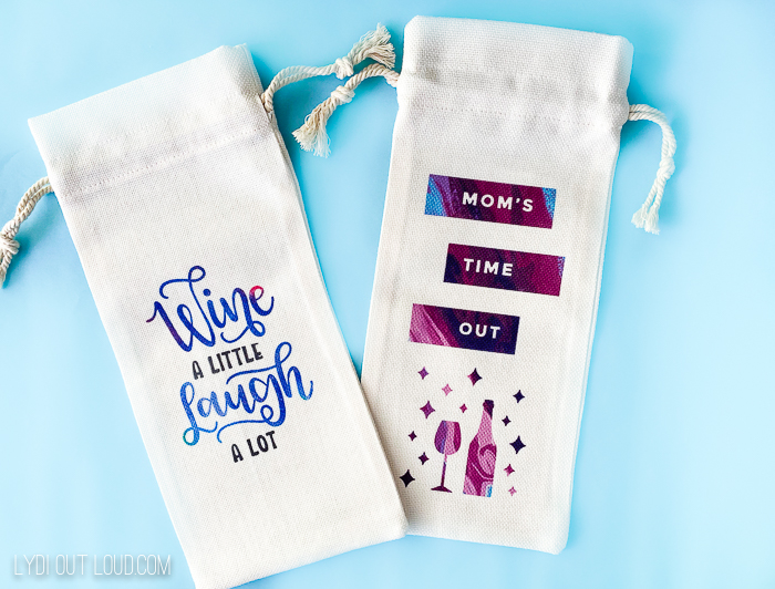 Cricut Infusable Ink Wine Bags