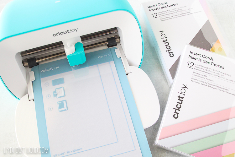 how to make cricut greeting cards