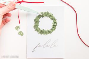 christmas cards with Cricut Explore Air 2