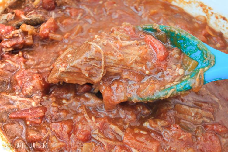 Crockpot round steak
