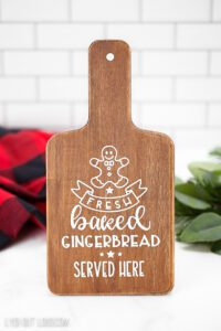 Fresh Baked Gingerbread Served Here sign