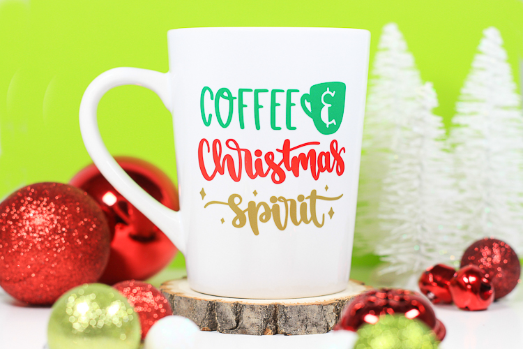 Coffee & Christmas Spirit Mug