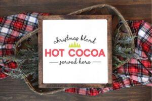 Hot Cocoa SVG