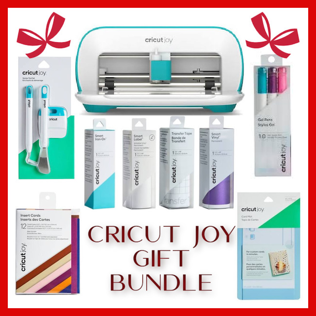 Cricut Joy holiday gift bundle