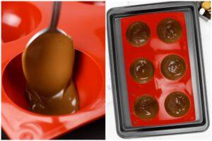 hot chocolate ball shells