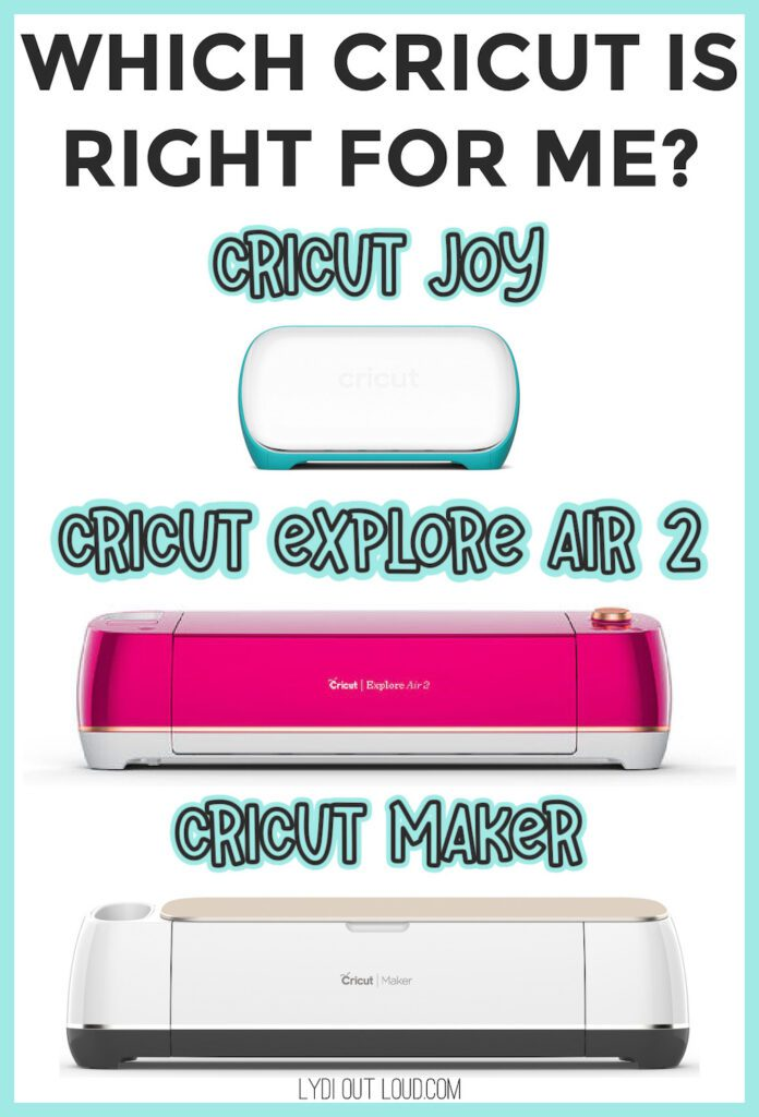 Which Cricut Machine is Best for me?