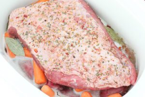 corned beef braised with beer